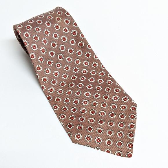 Arrow Other - Vintage 1960s Floral Print Arrow tie